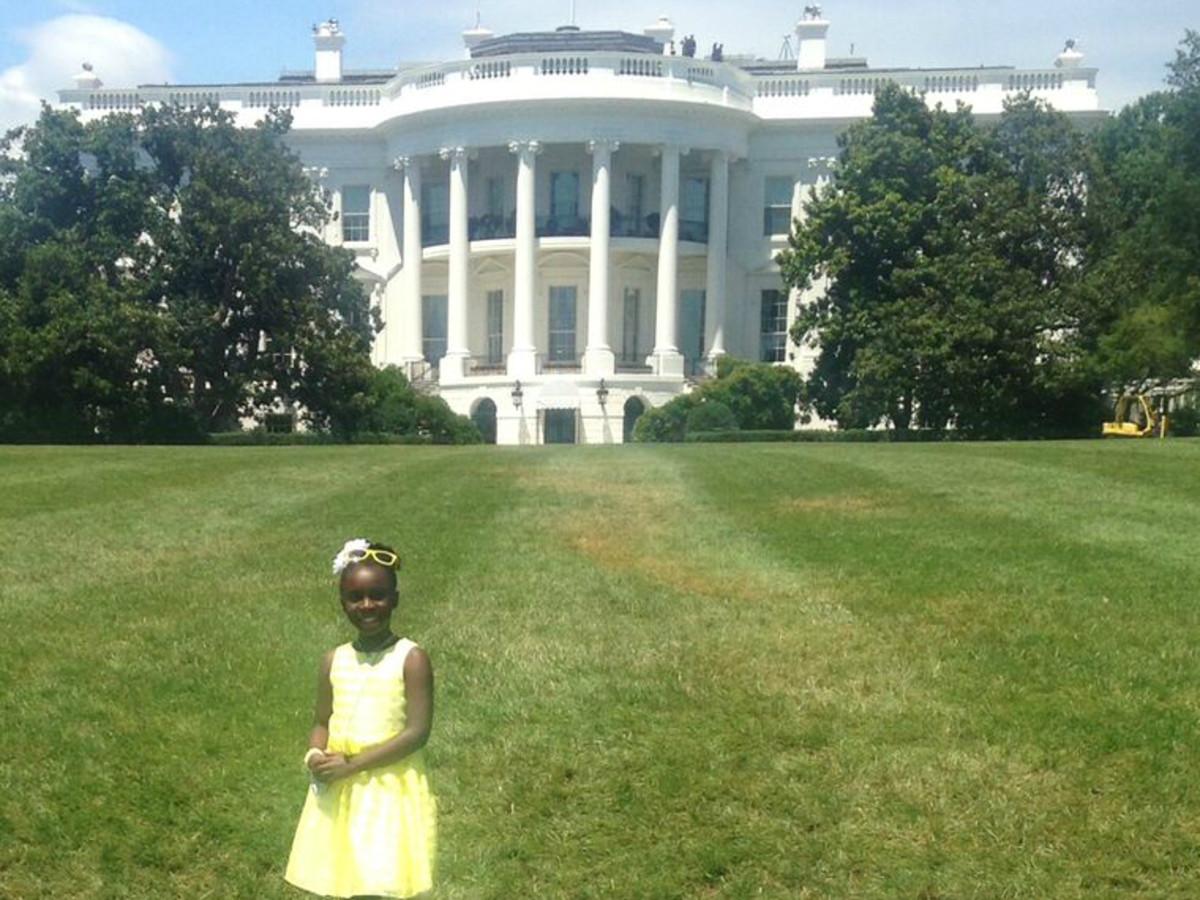 Mikaila Ulmer BeeSweet Lemonade Austin White House July 2015