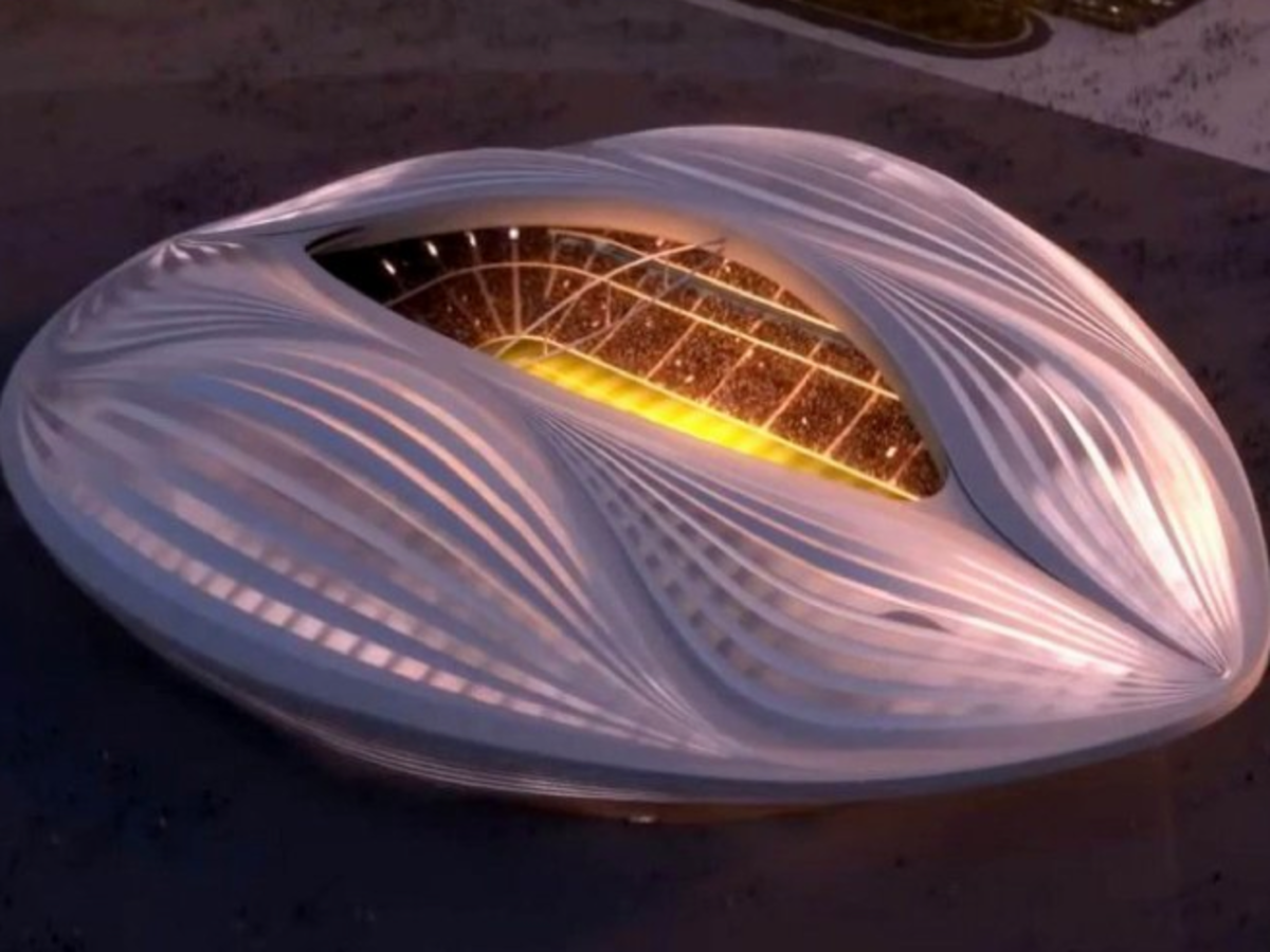 Zaha Hadid vagina shaped stadium in Qatar