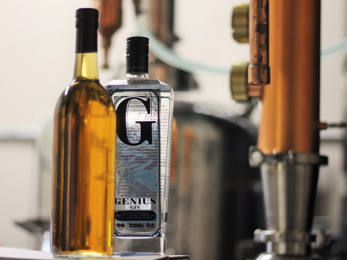 Oaked Genius Gin 2015