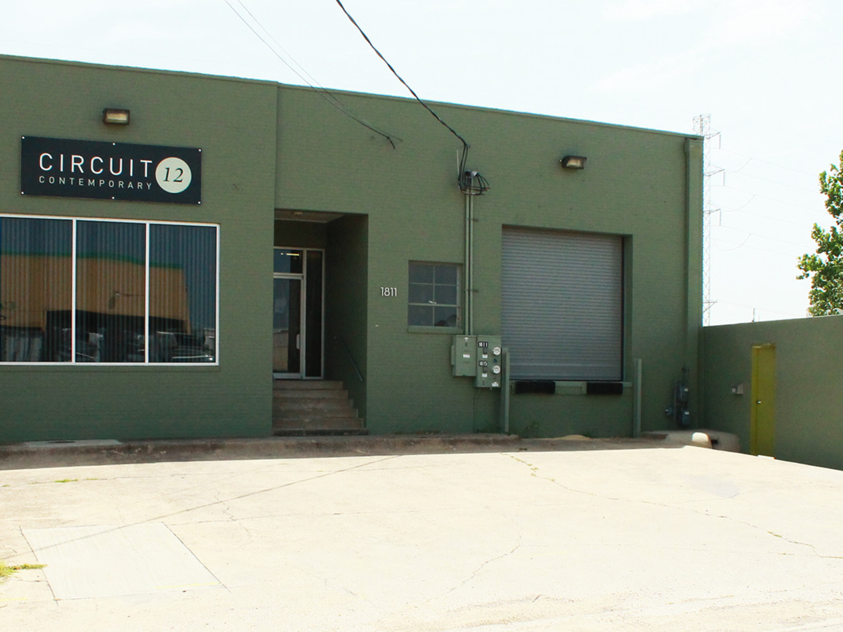 Circuit 12 Contemporary new gallery space Dallas