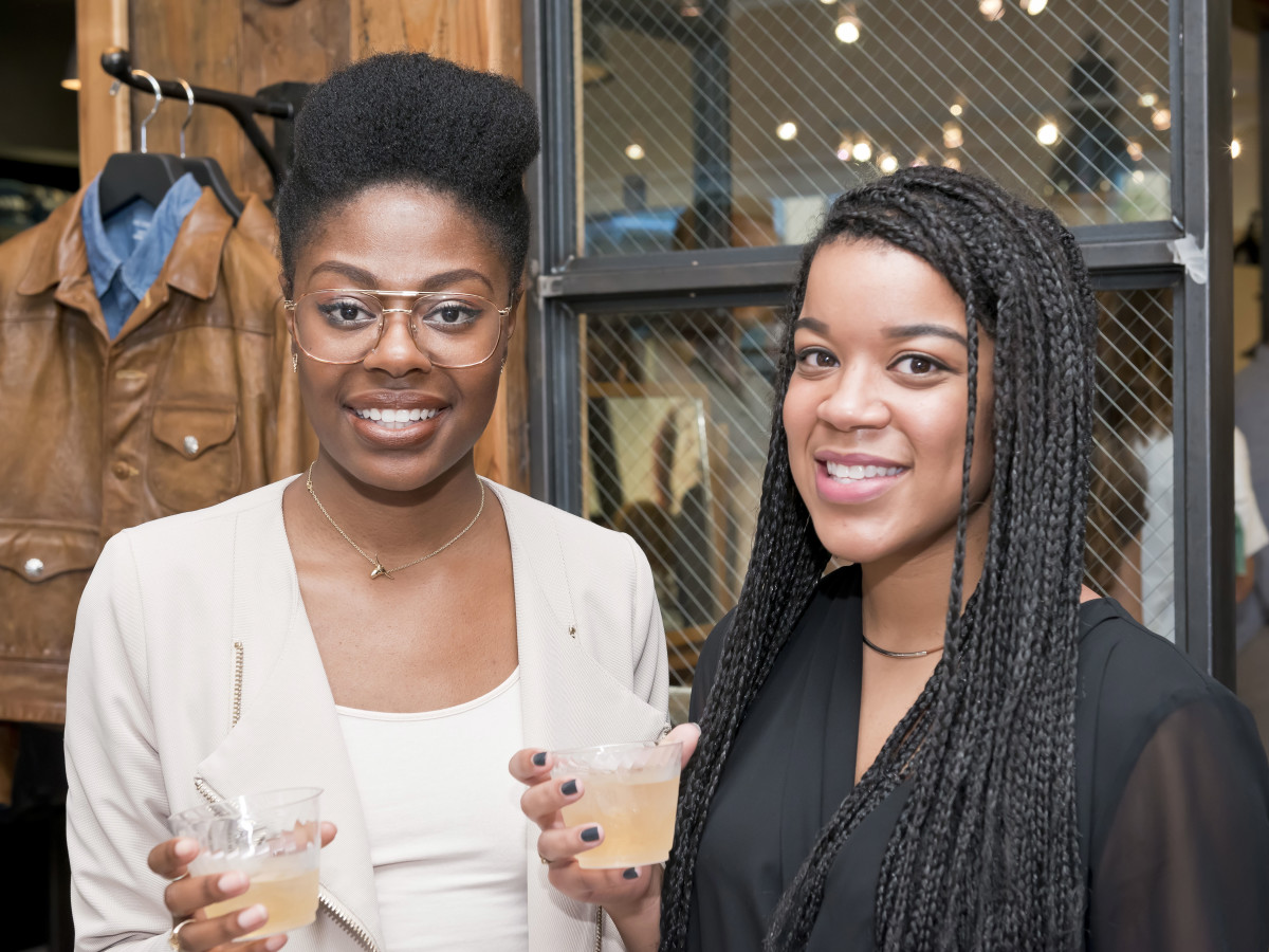 Houston, Stag Provisions opening party, June 2015, Rin Willis, Camei Robinson