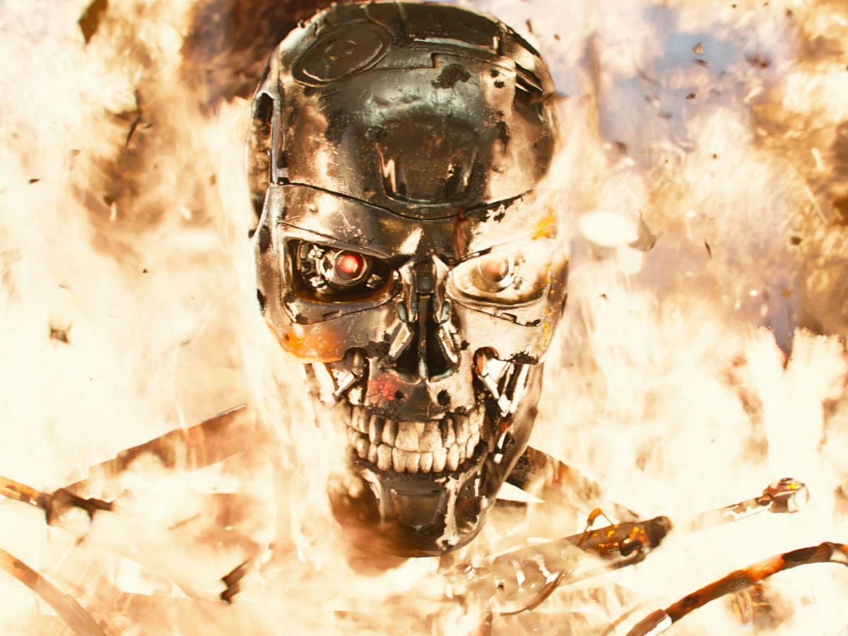 Scene from Terminator Genisys