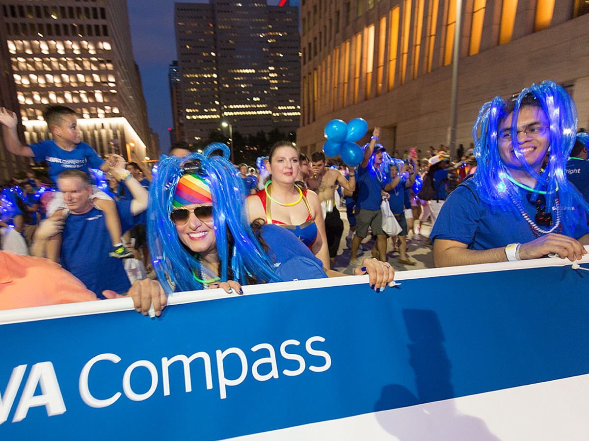 Houston Pride 2015 BBVA Compass parade