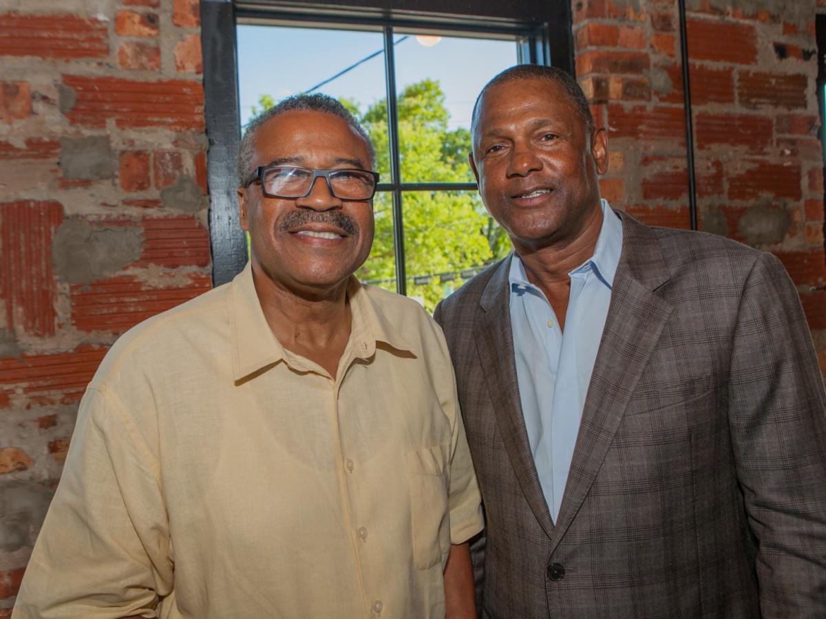 Houston, Pastorini party, June 2015, Al Johnson, Willie Alexander