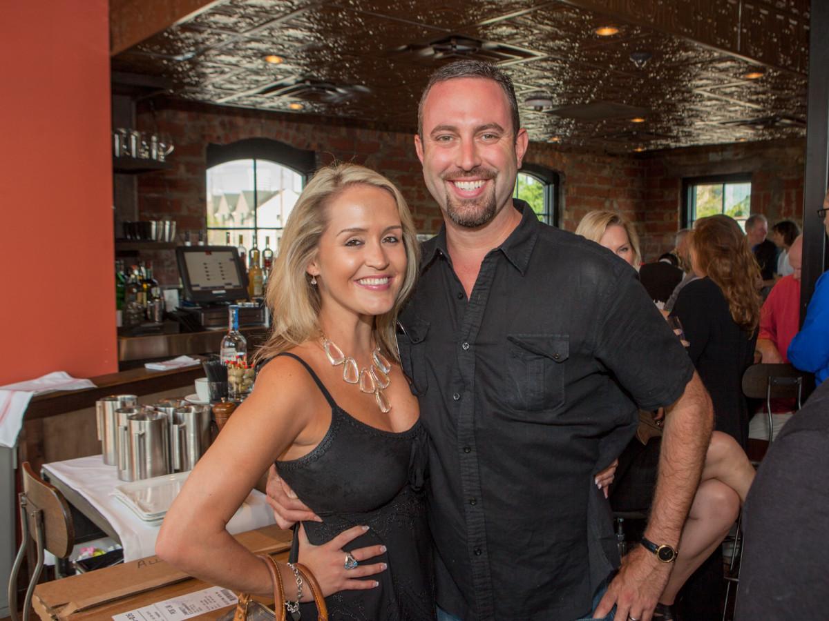 Houston, Pastorini party, June 2015, Nicole and Ashton Stresau