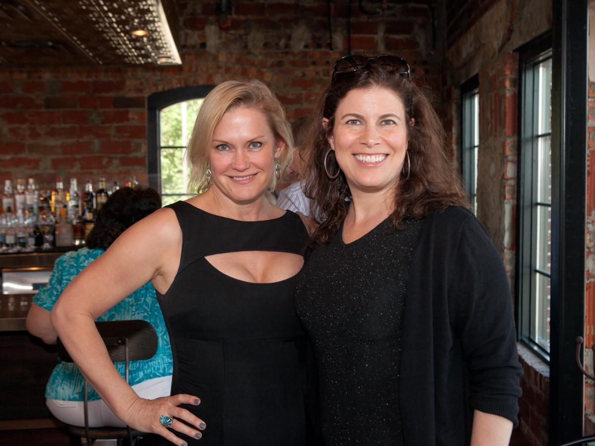 Houston, Pastorini party, June 2015, Diane Reul, Stephanie Stradley