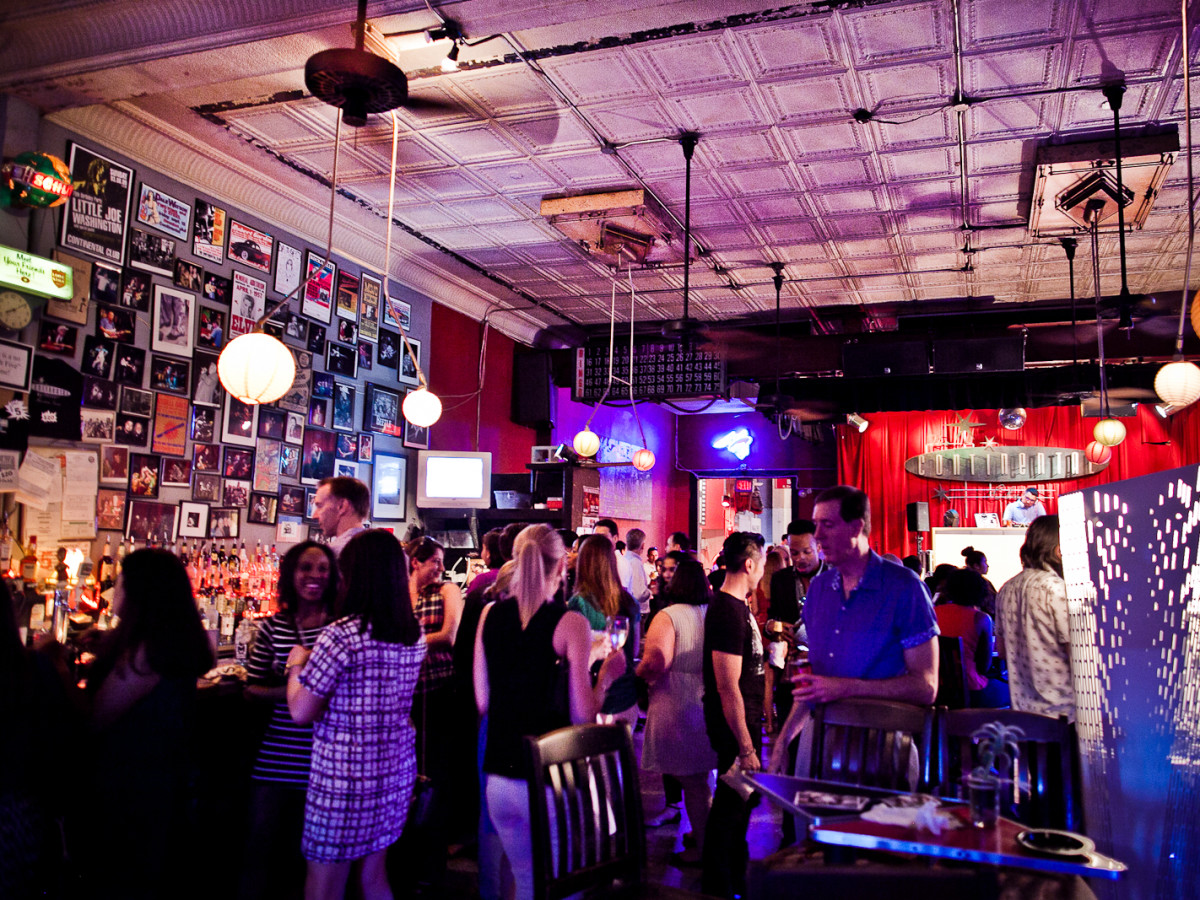 Houston, CultureMap Social, June 2015, crowd inside