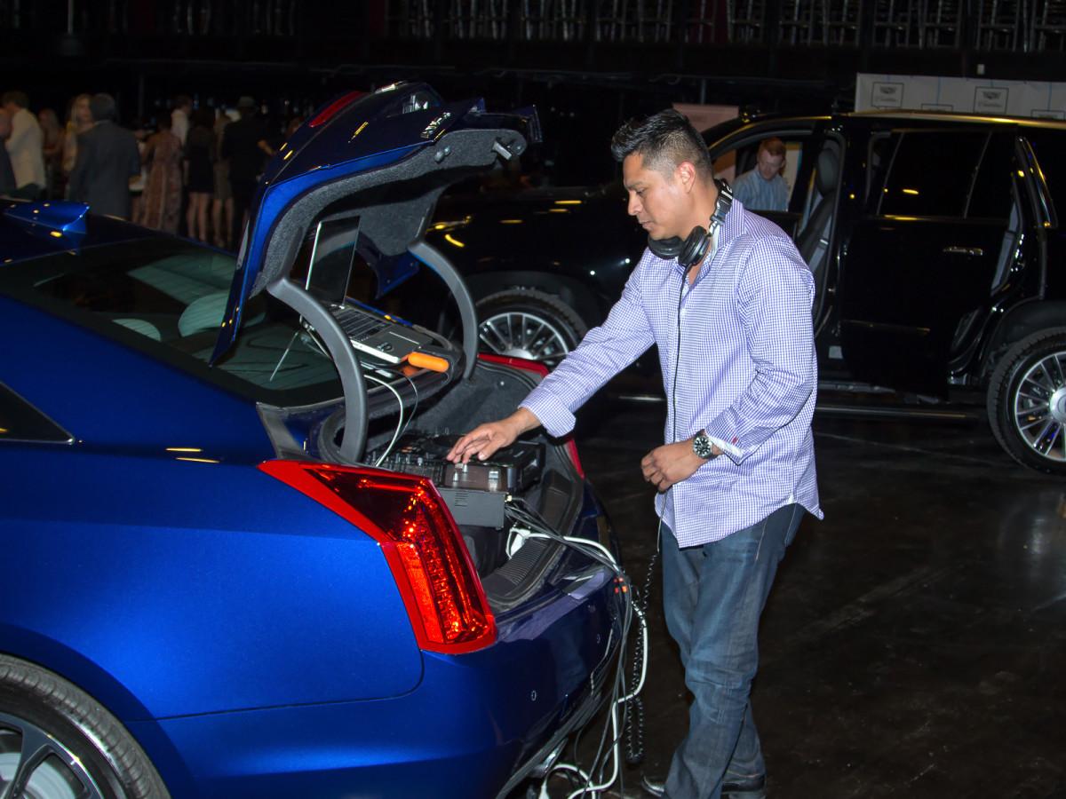 DJ Jose G at CultureMap Dallas Music Social 2015