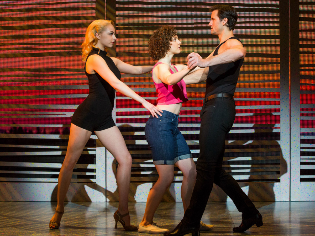 Jenny Winton, Gillian Abbott and Samuel Pergande in Dirty Dancing