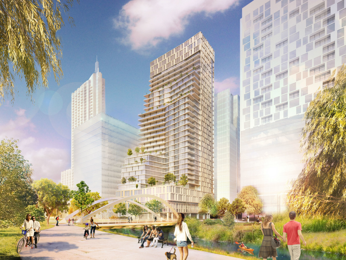 Austin Proper Residences and Hotel rendering