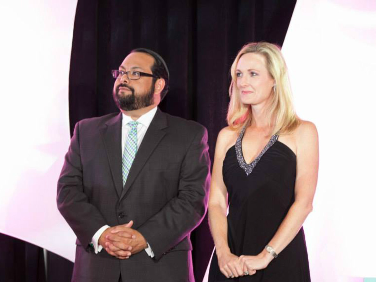 Leukemia & Lymphoma Society's Man & Woman of the Year Gala_Randy Curbriel_Dana Smith_2015