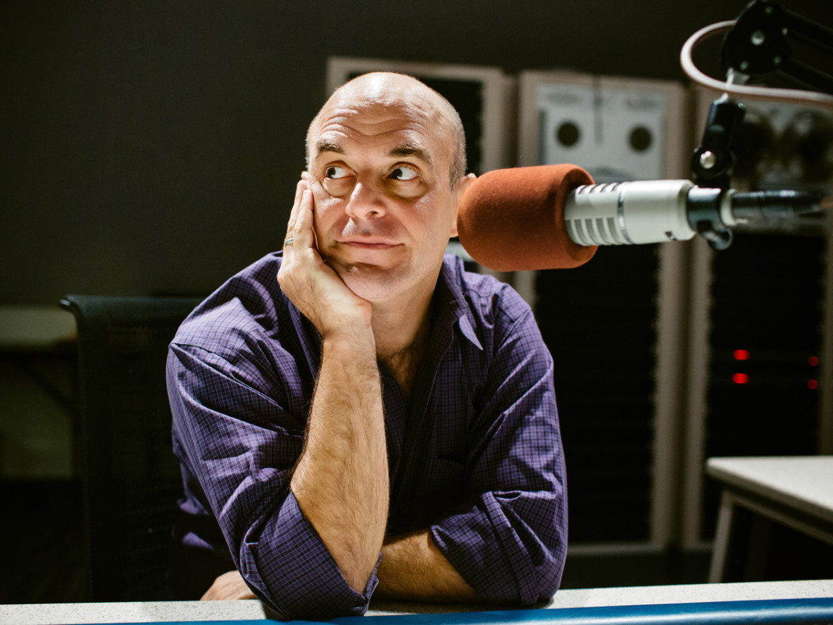 Peter Sagal Wait Wait Don't Tell Me host headshot