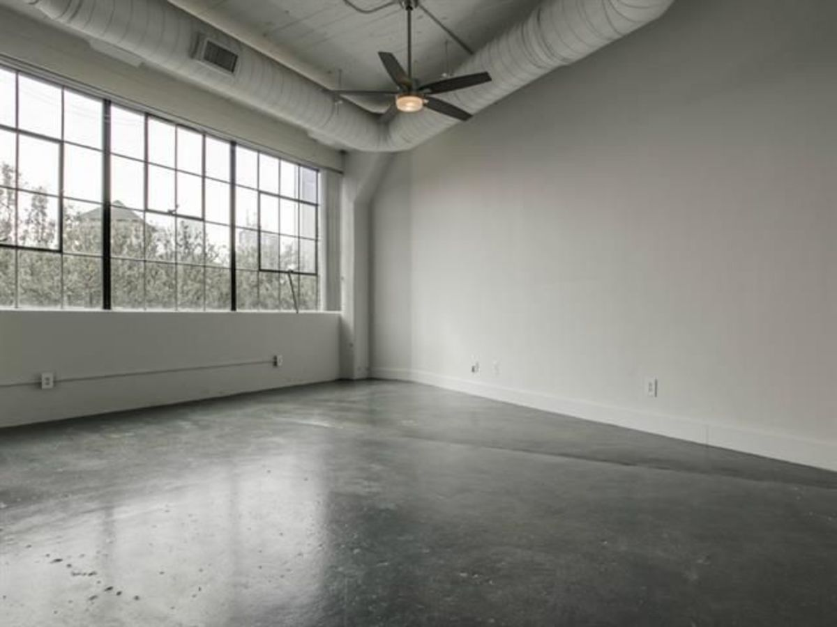 Interior of 2220 Canton St. in Dallas