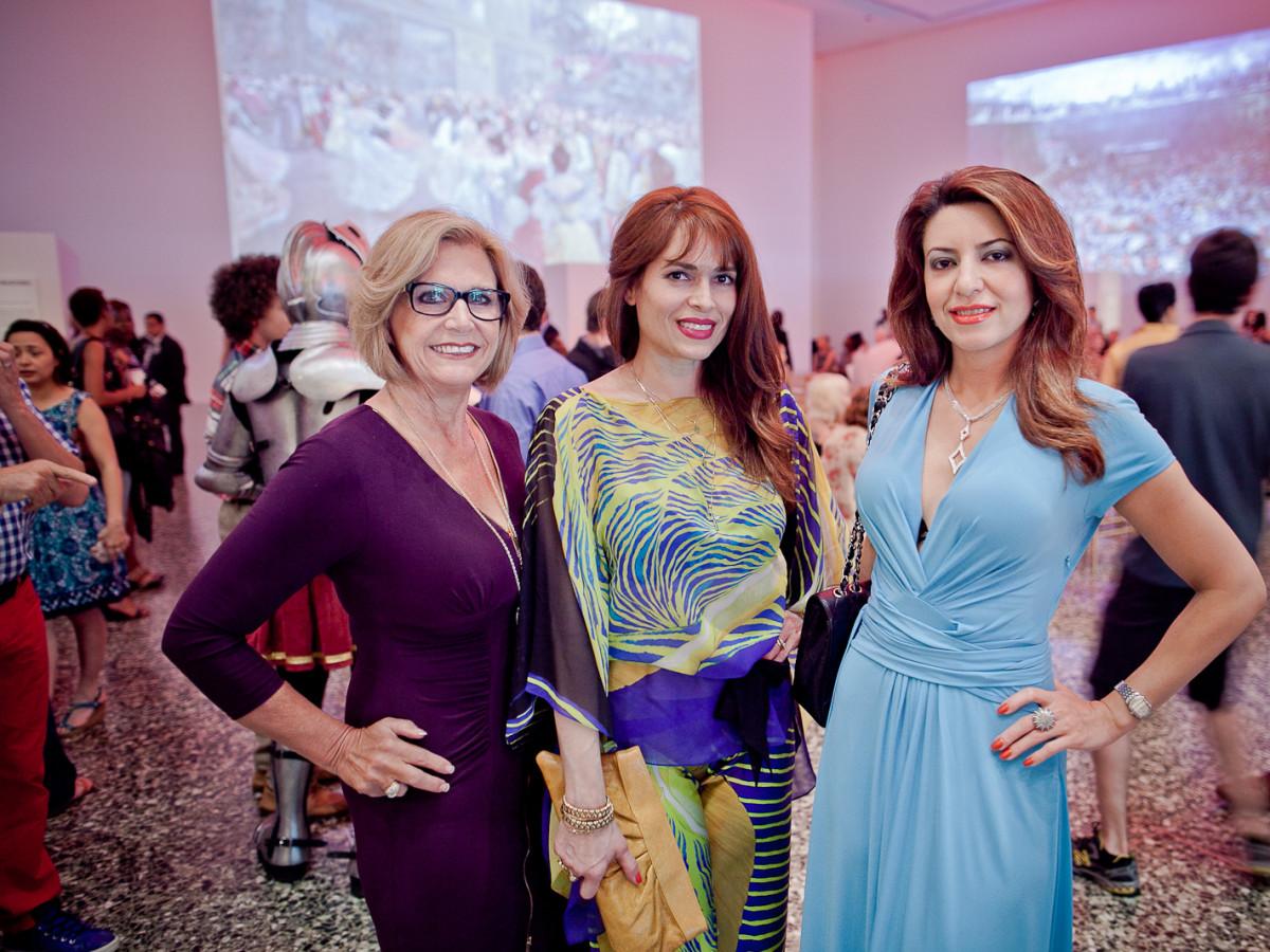 Houston, Fashion Fusion, June 2015, Melanie Campbell, Karina Barbieri, Parissa Mohajer