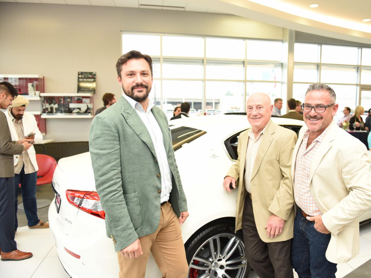 News, Shelby, Helfman Maserati opening, June 2015, Mateo Scaiola, Lane Kalmin,Joel Kalmin