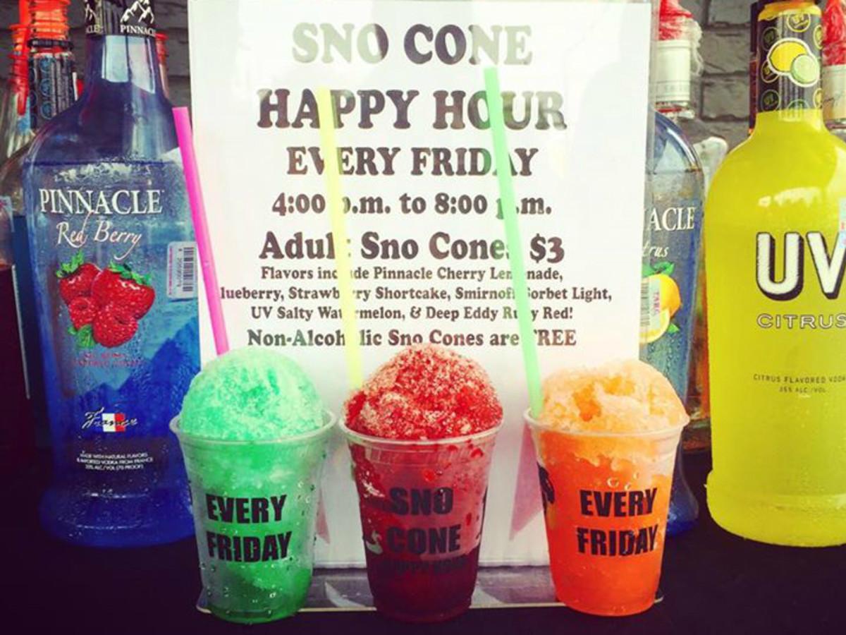 Haymaker_sno cone happy hour_adult snow cone_alcoholic_2015