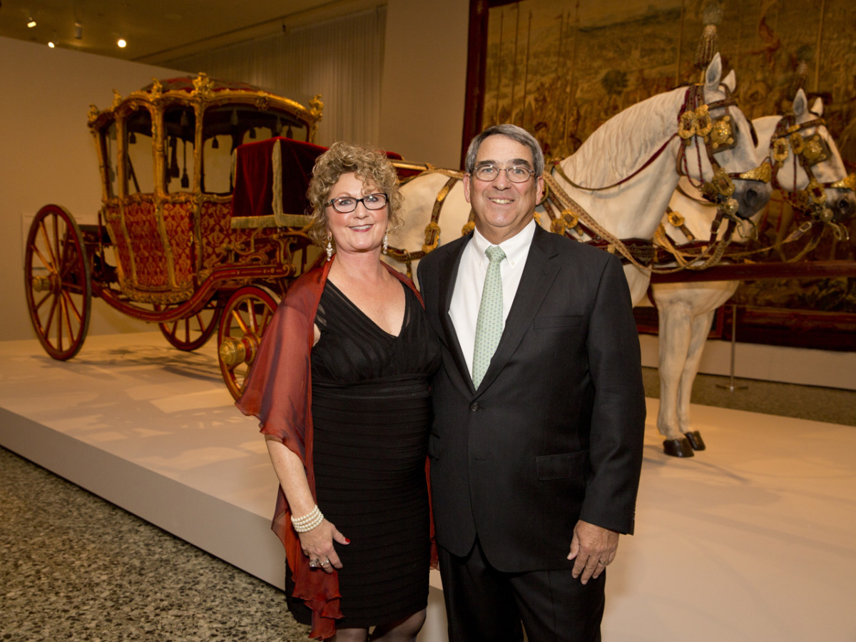 MFAH Habsburg Splendor dinner Marsha and Tom Brown