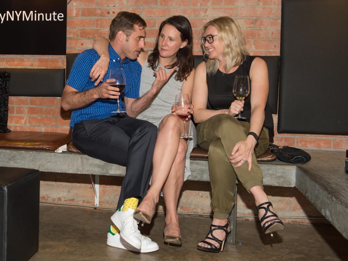 Camerata and Tiffany Watch Launch Michael Mandola, Kate Allen Stukenberg, Caroline LeBlanc