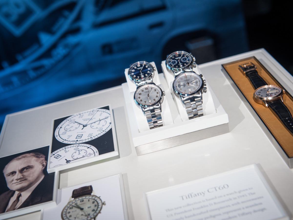 Camerata and Tiffany Watch Launch CT60 presentation