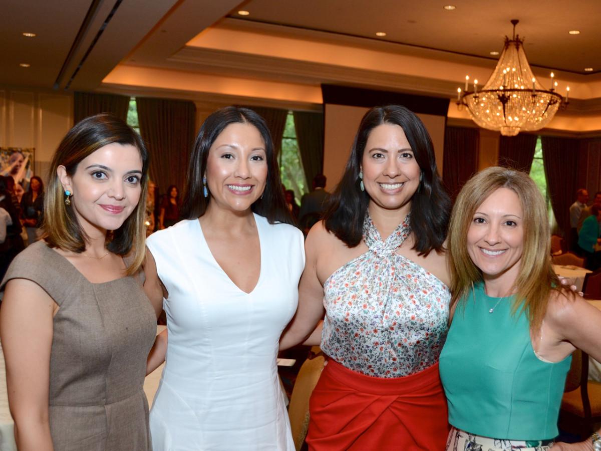 Women's Home Luncheon 2015 Layla Asgari, Nancy Almodovar, Anika Jackson, Dena Winkler