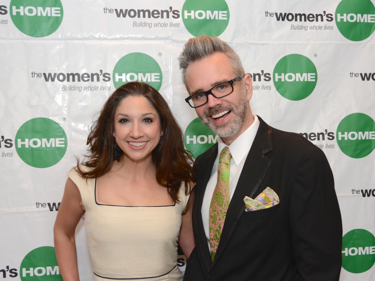 Women's Home Luncheon 2015 Jill Thompson Shull, Michael Pearce