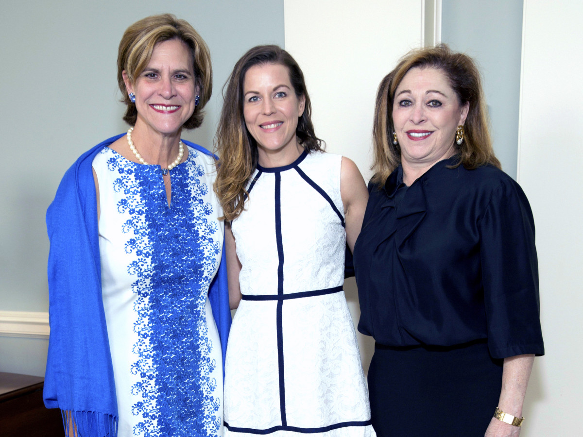 Houston, Spaulding for Children luncheon, May 2017, Suzann Richardson, Caroline Simons, Suzy Simons