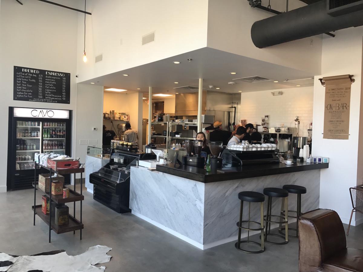Cavo Coffee interior