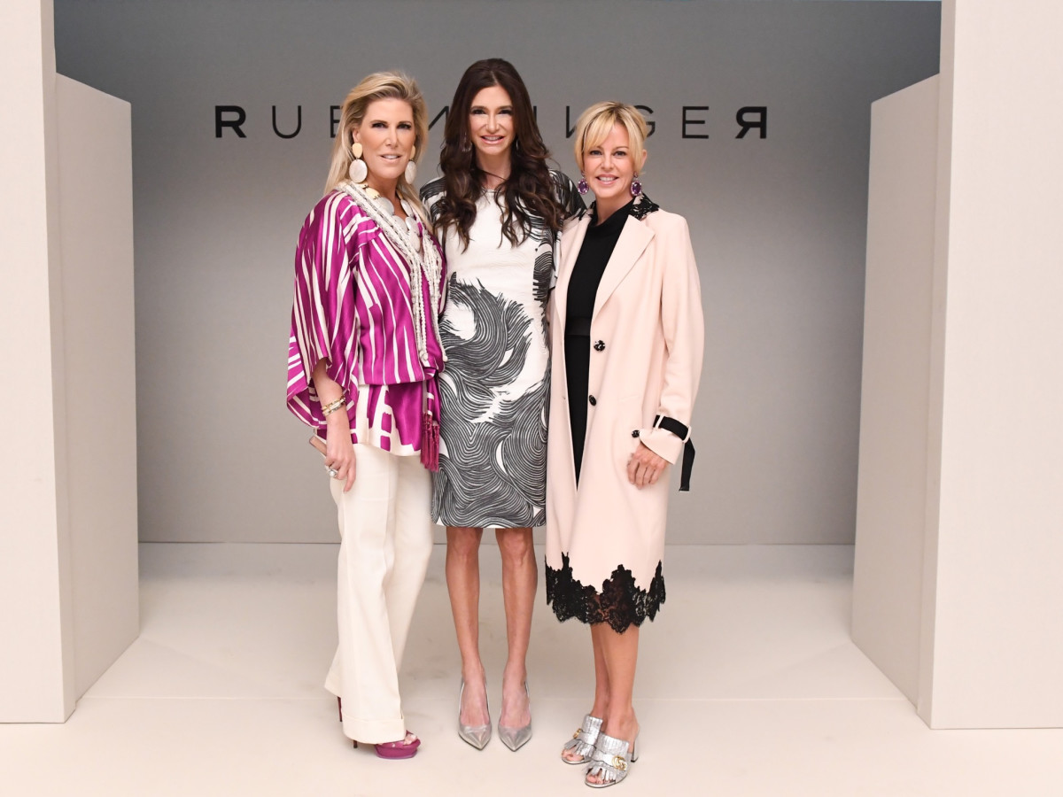Courtney Hopson, Melissa Mafrige Mithoff and Elizabeth Petersen at Passion for Fashion luncheon