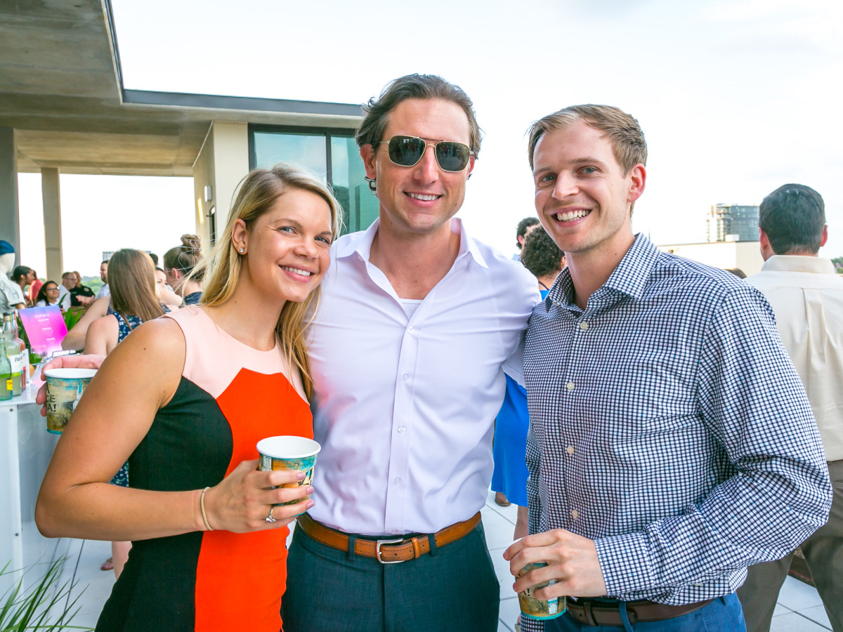 CM Summer Social Briana Thompson, Corey Weidman, Jesse Frank