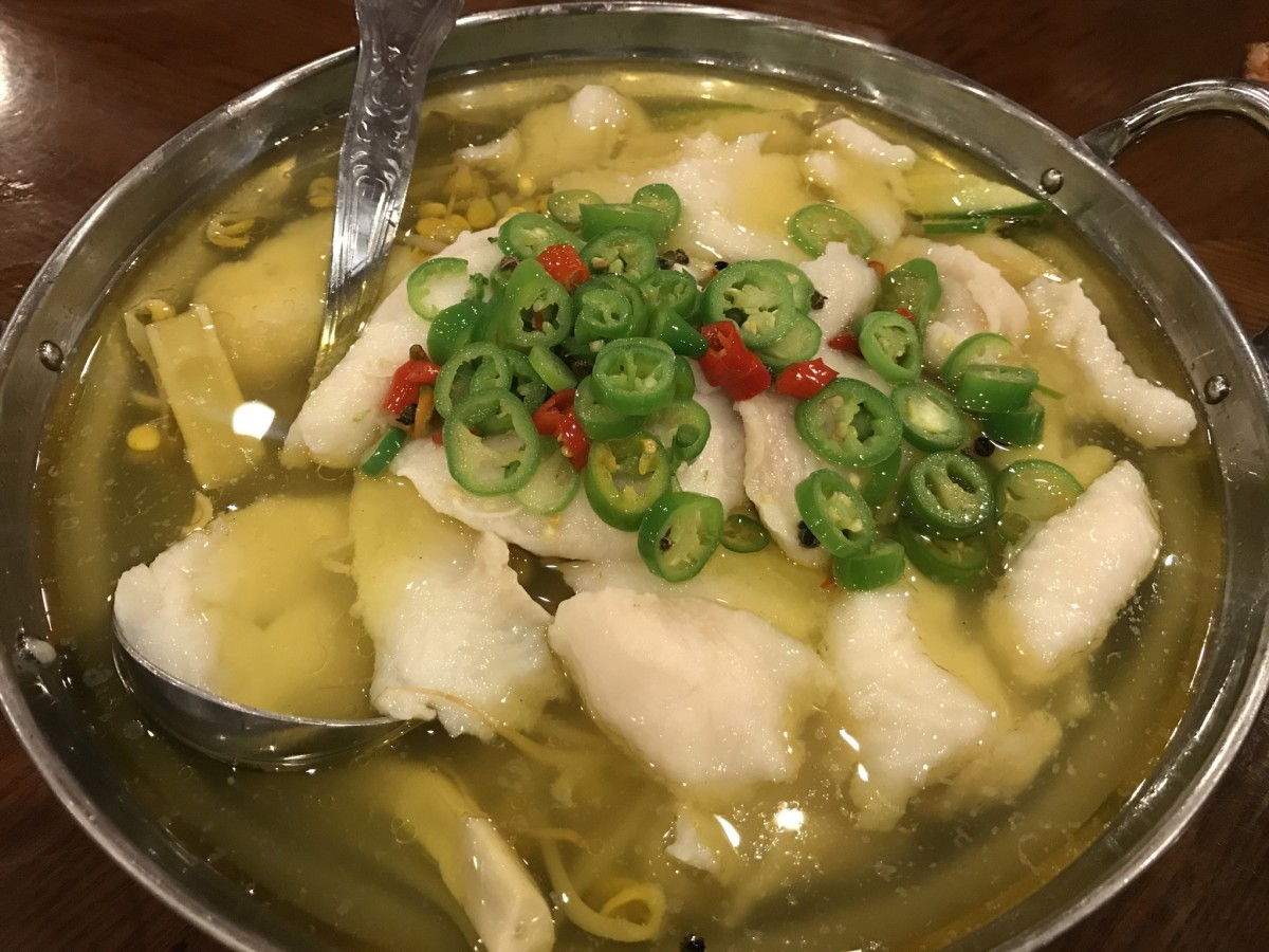 Chengdu Taste - water boiled fish