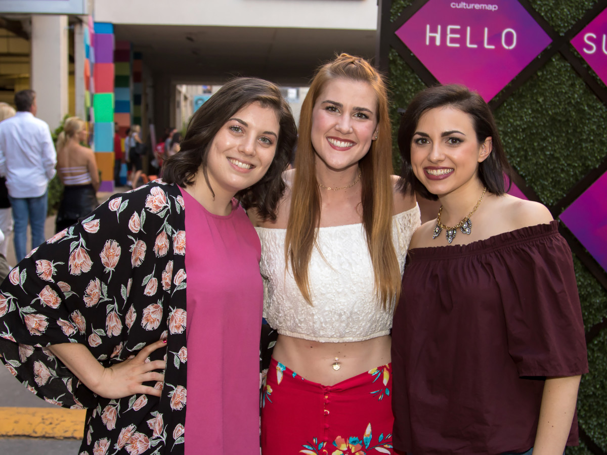 Tess DeStefano, Katelyn Smith, Emily Bastaroli