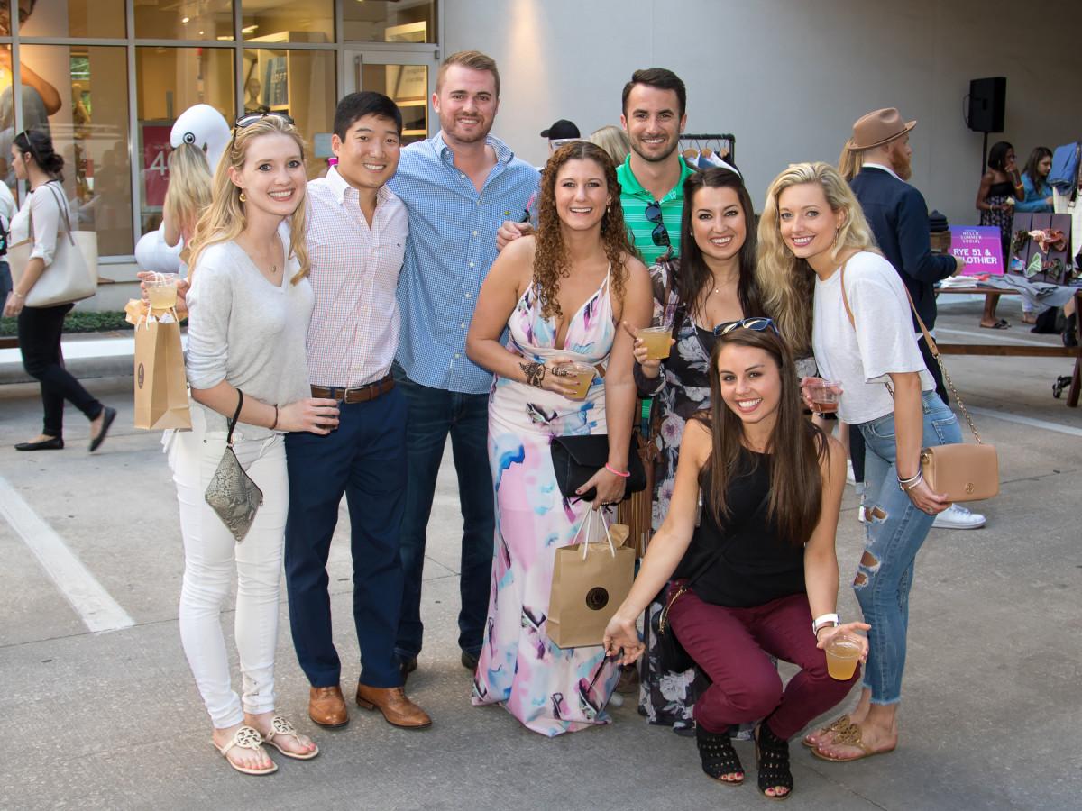 Guests having fun at the Hello Summer Social 2017