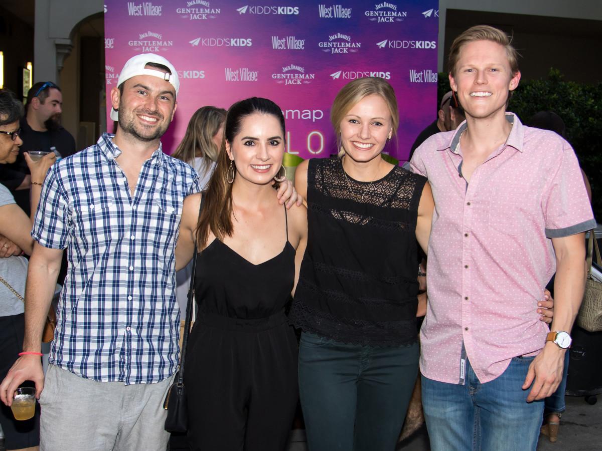 Guests at the Hello Summer Social 2017