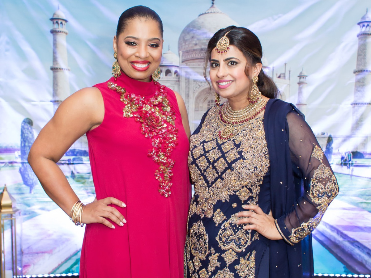 Shawntell McWilliams, Ruchi Mukherjee at International Mother's Day Soiree
