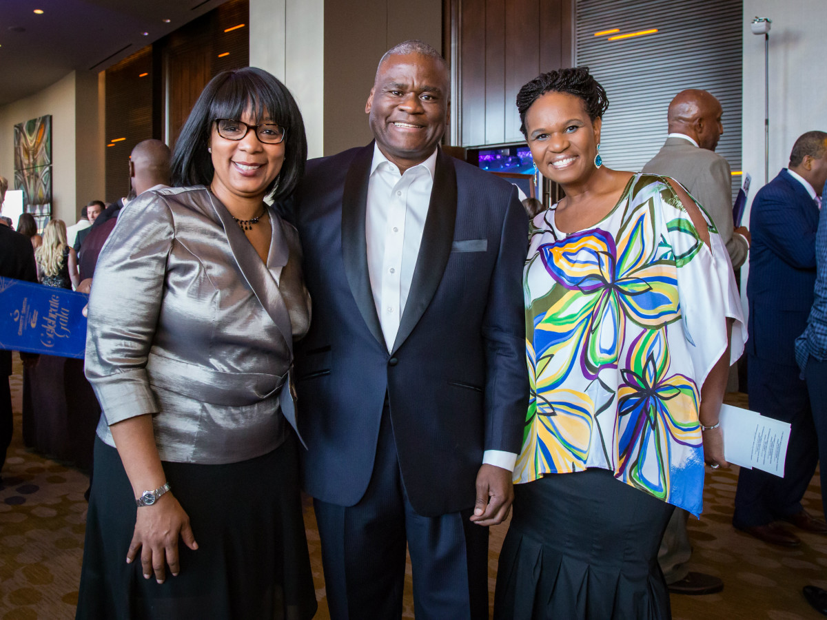 Cheryl Brown, Lamont Thomas, Cheryl Mayo Williams