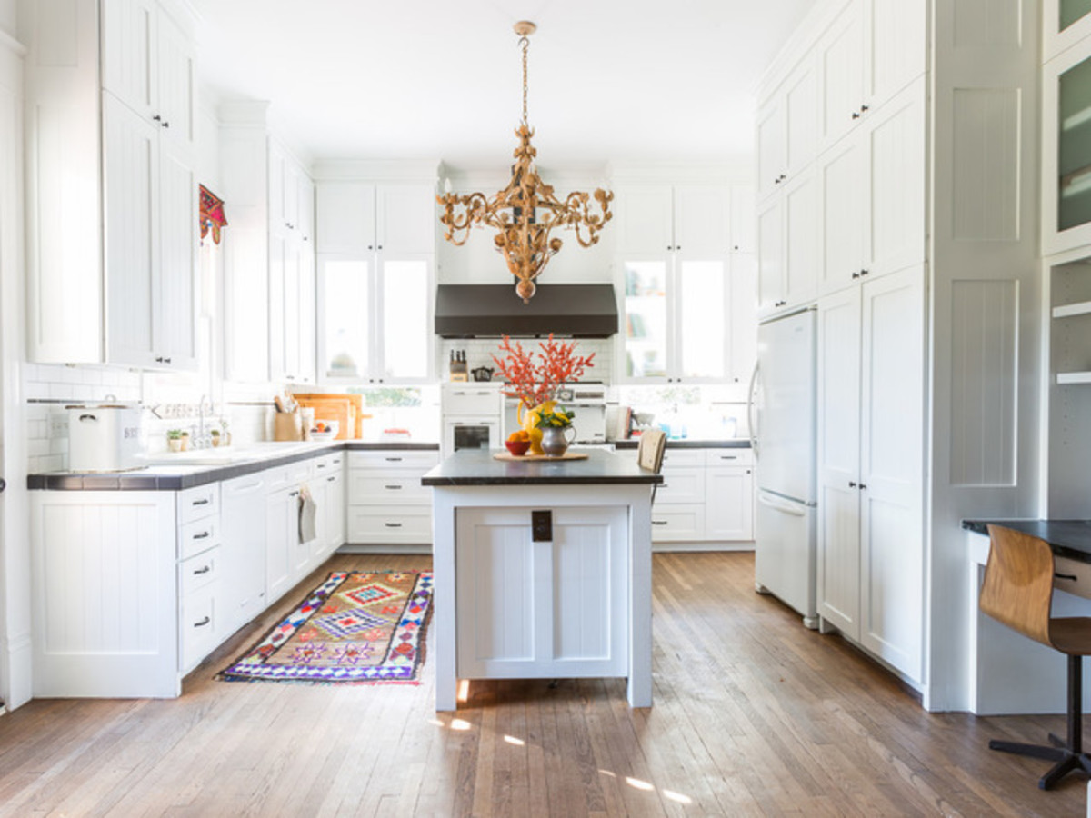 Houston, Houzz Bohemian-Chic Style Home for a New Family, June 2017, kitchen