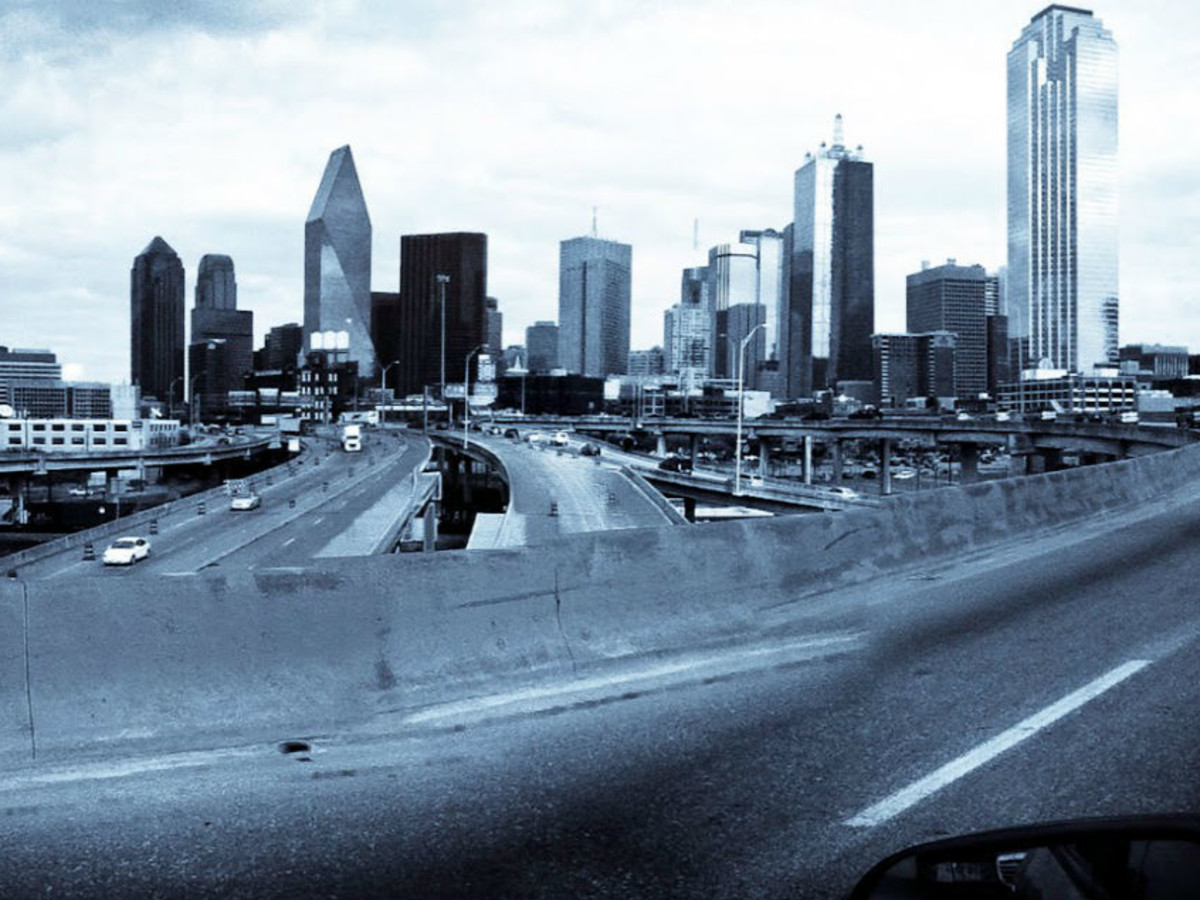 downtown dallas traffic