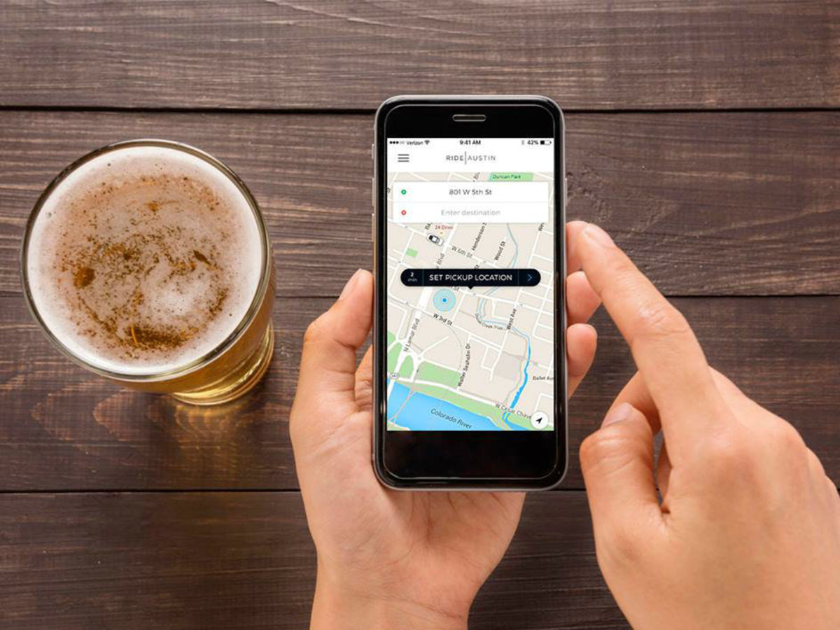 RideAustin ride-sharing app