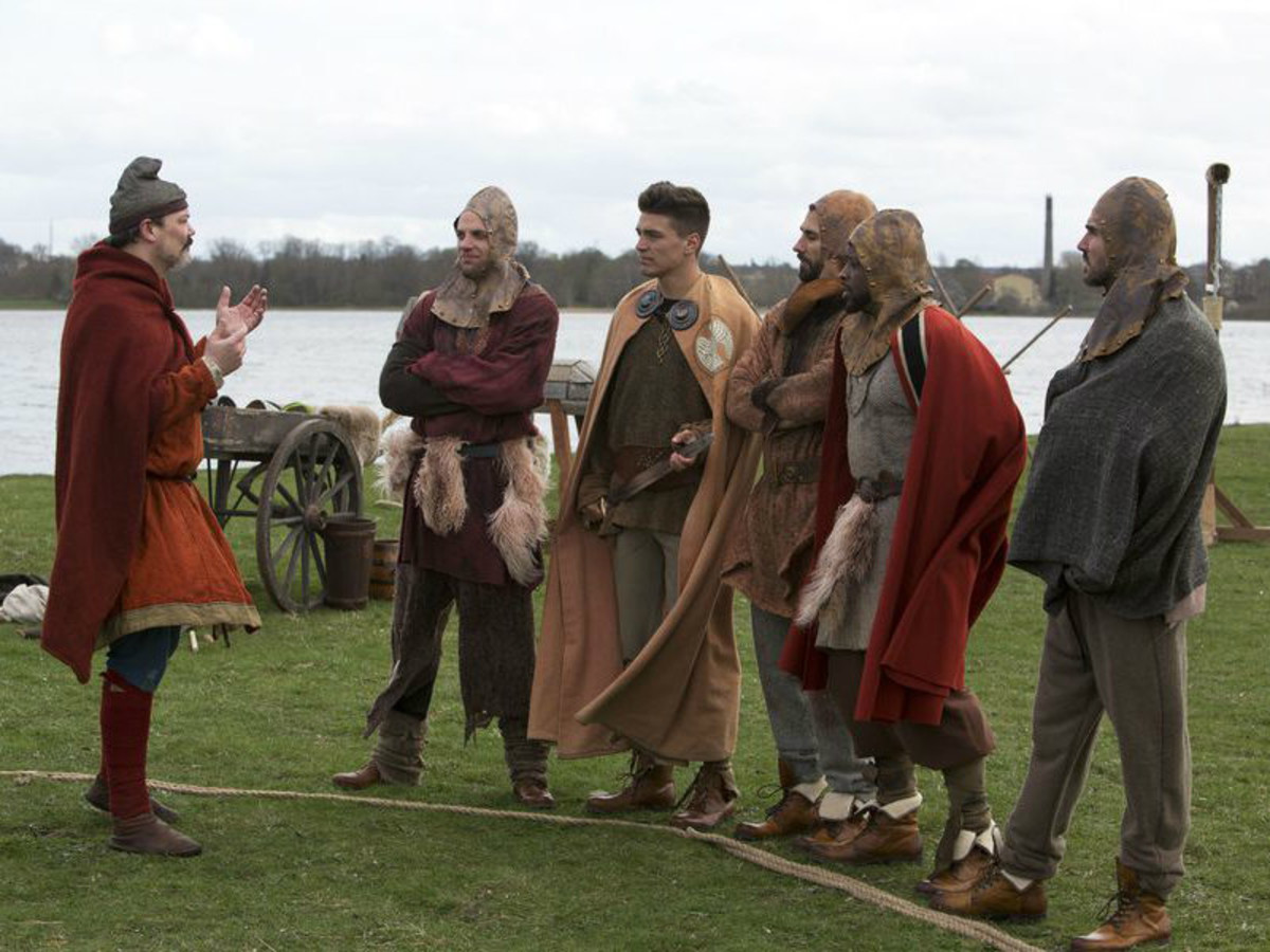 Bachelorette episode 6, Vikings