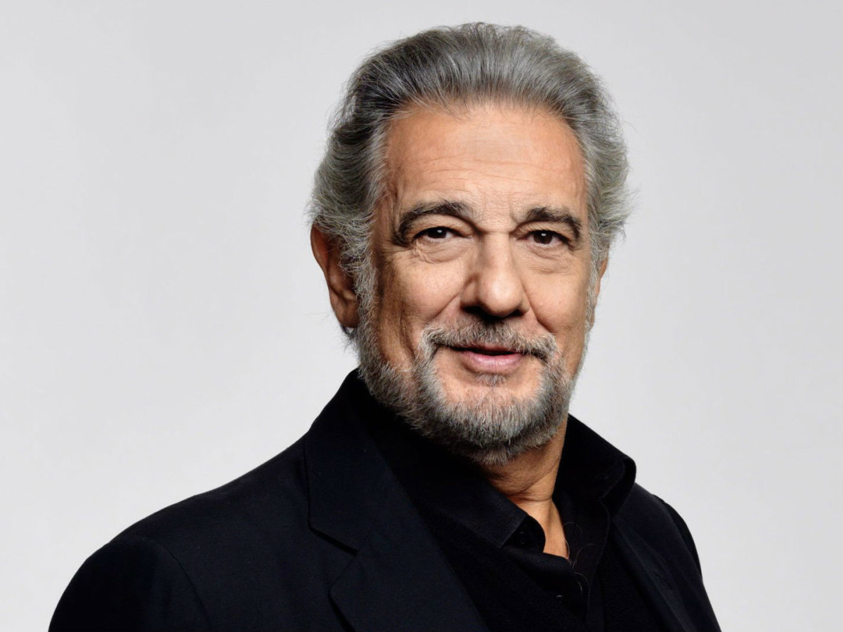 Opera singer Placido Domingo