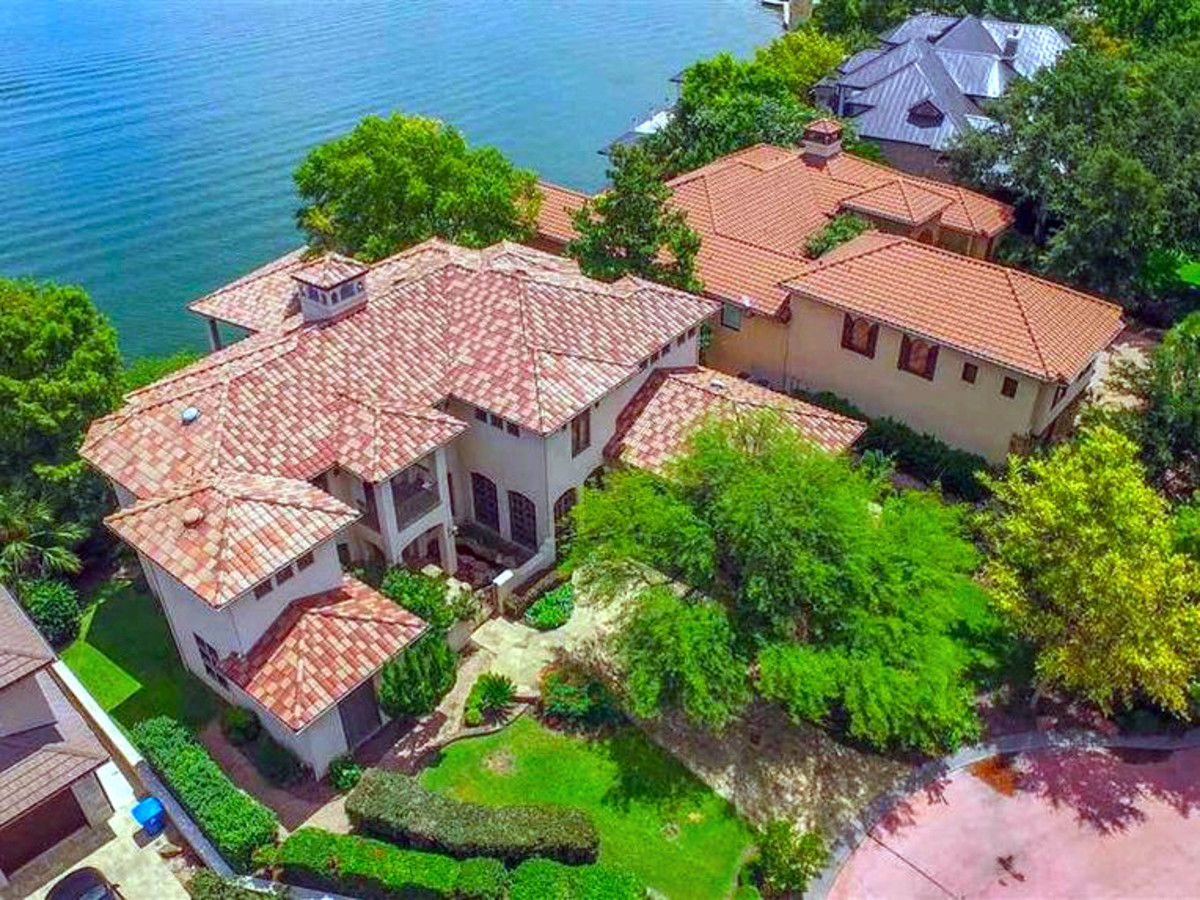 Rex Tillerson home at Horseshoe Bay, aerial view