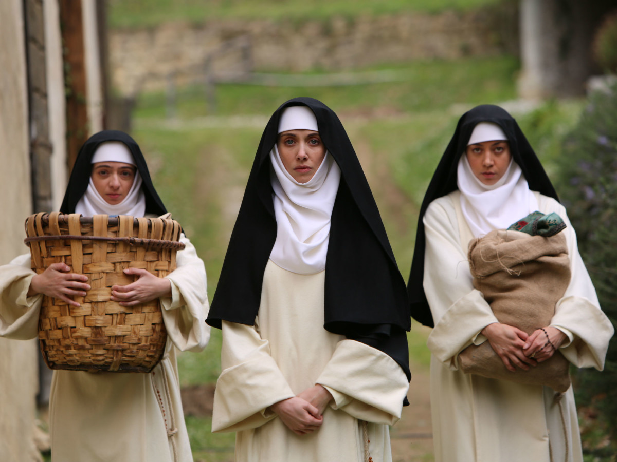 Kate Micucci, Alison Brie, and Aubrey Plaza in The Little Hours