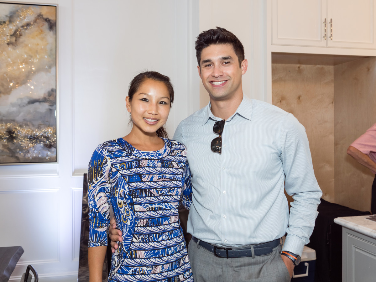 Houston, Carnegie Homes event, July 2017, Julie Chao, Jesus Salinas