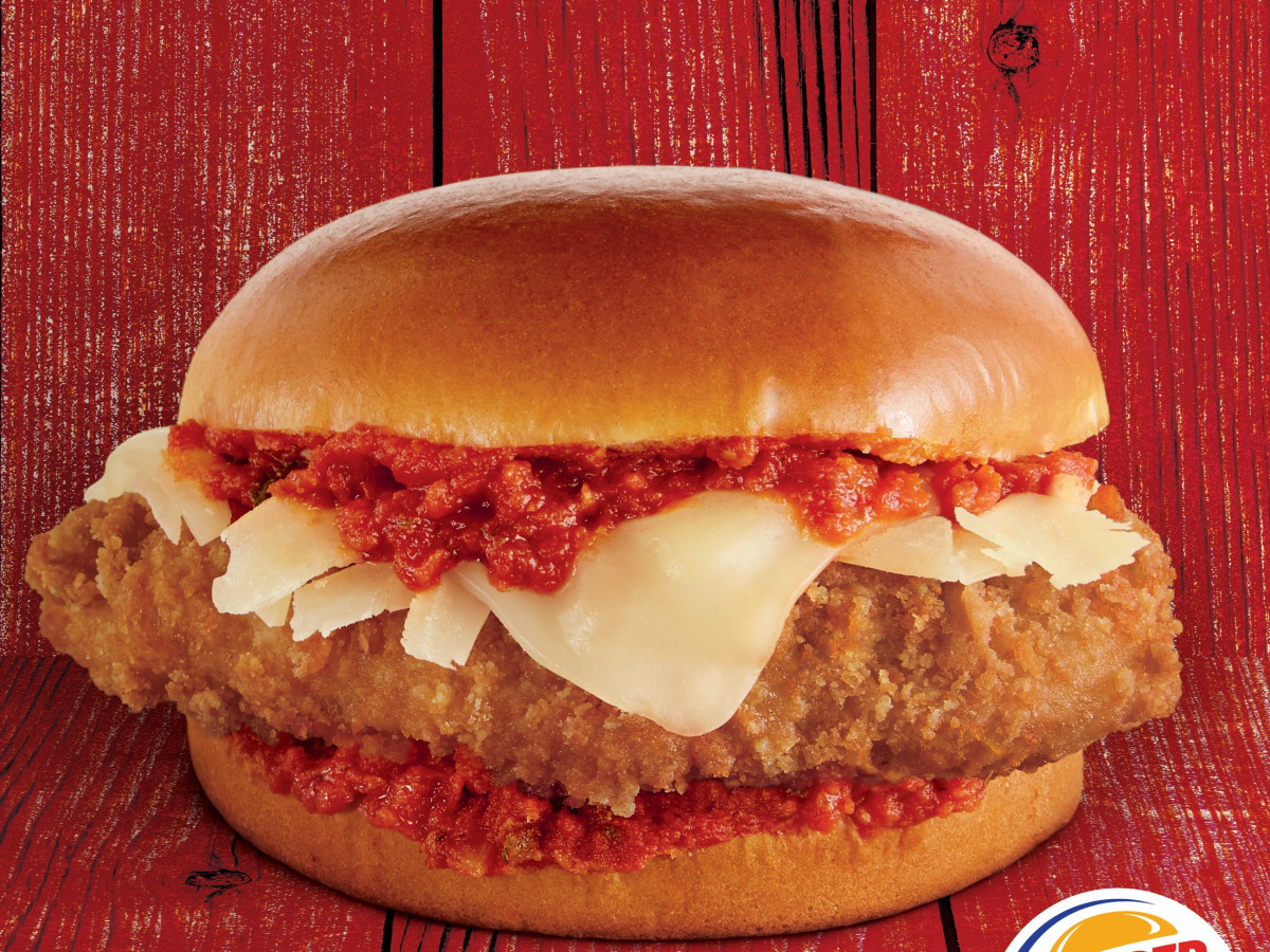 Burger King Parmesan Chicken Sandwich