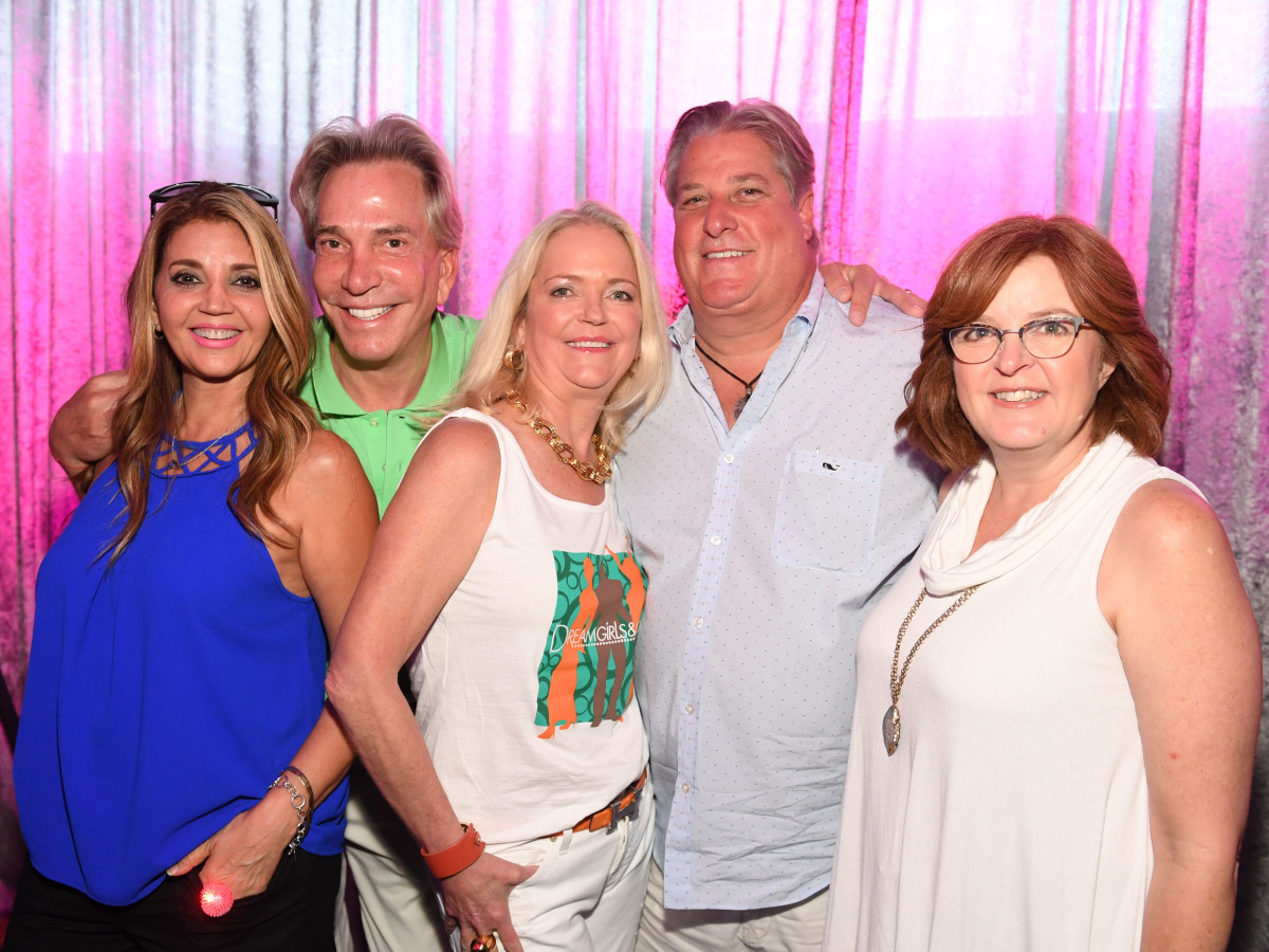 Sudy Samandari, John Pettiette, Chree Boydstun, Keith Dodd, Pam Buck at Mint Julep 2017