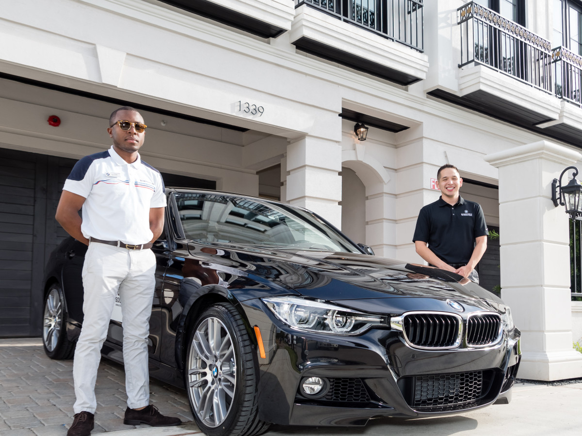 Houston, Carnegie Homes event, July 2017, BMW
