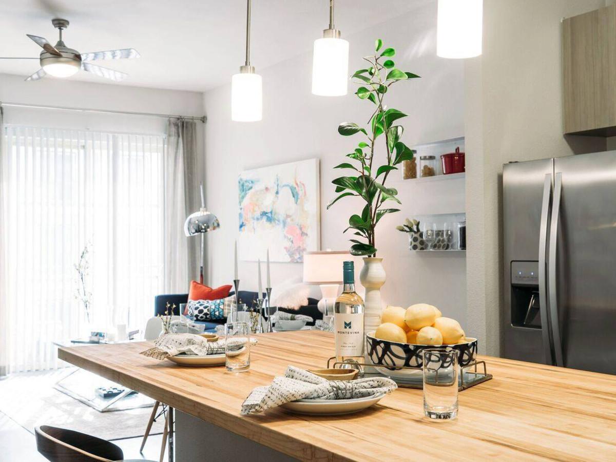 San Antonio apartment interior