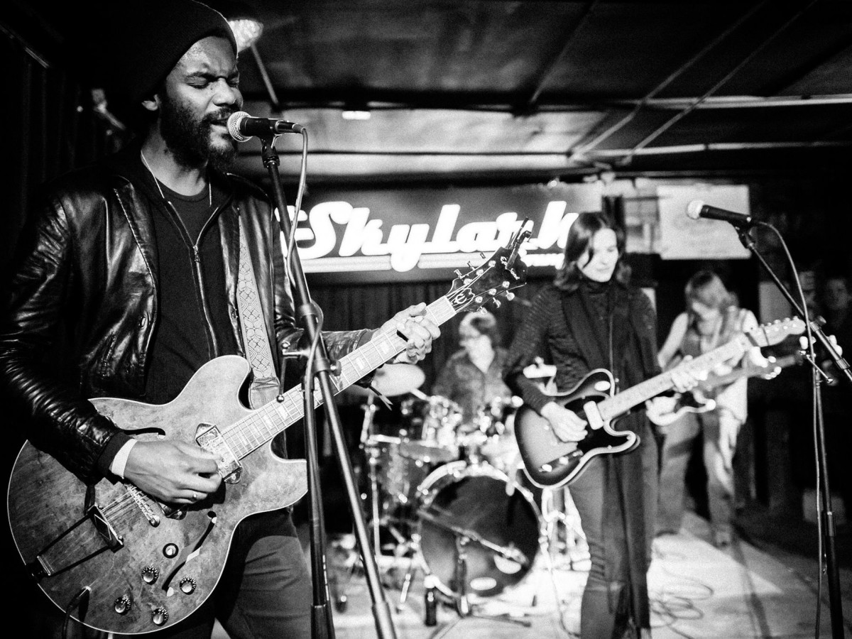 Gary Clark Jr plays at Skylark Lounge in Austin