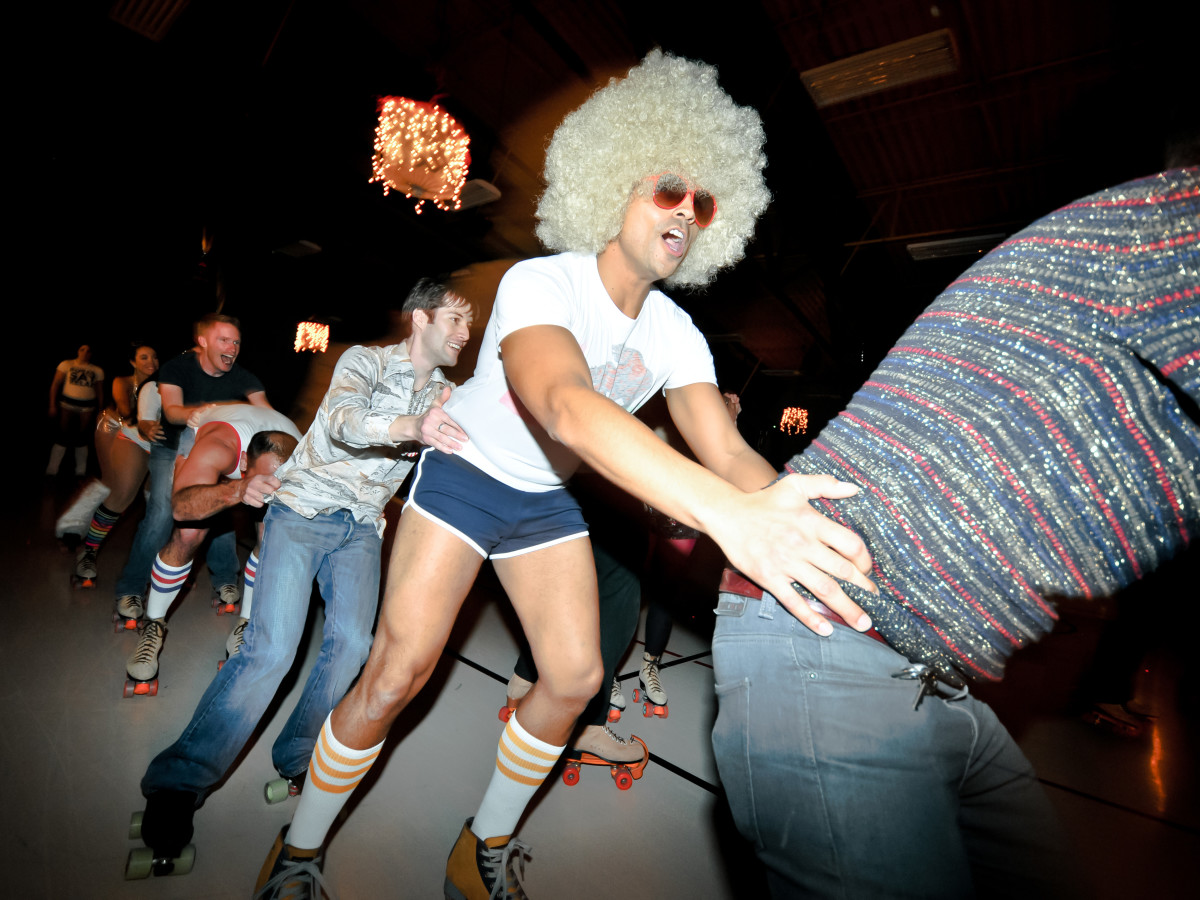 Austin Photo Set: News_John Leach_roller disco_feb 2012_5