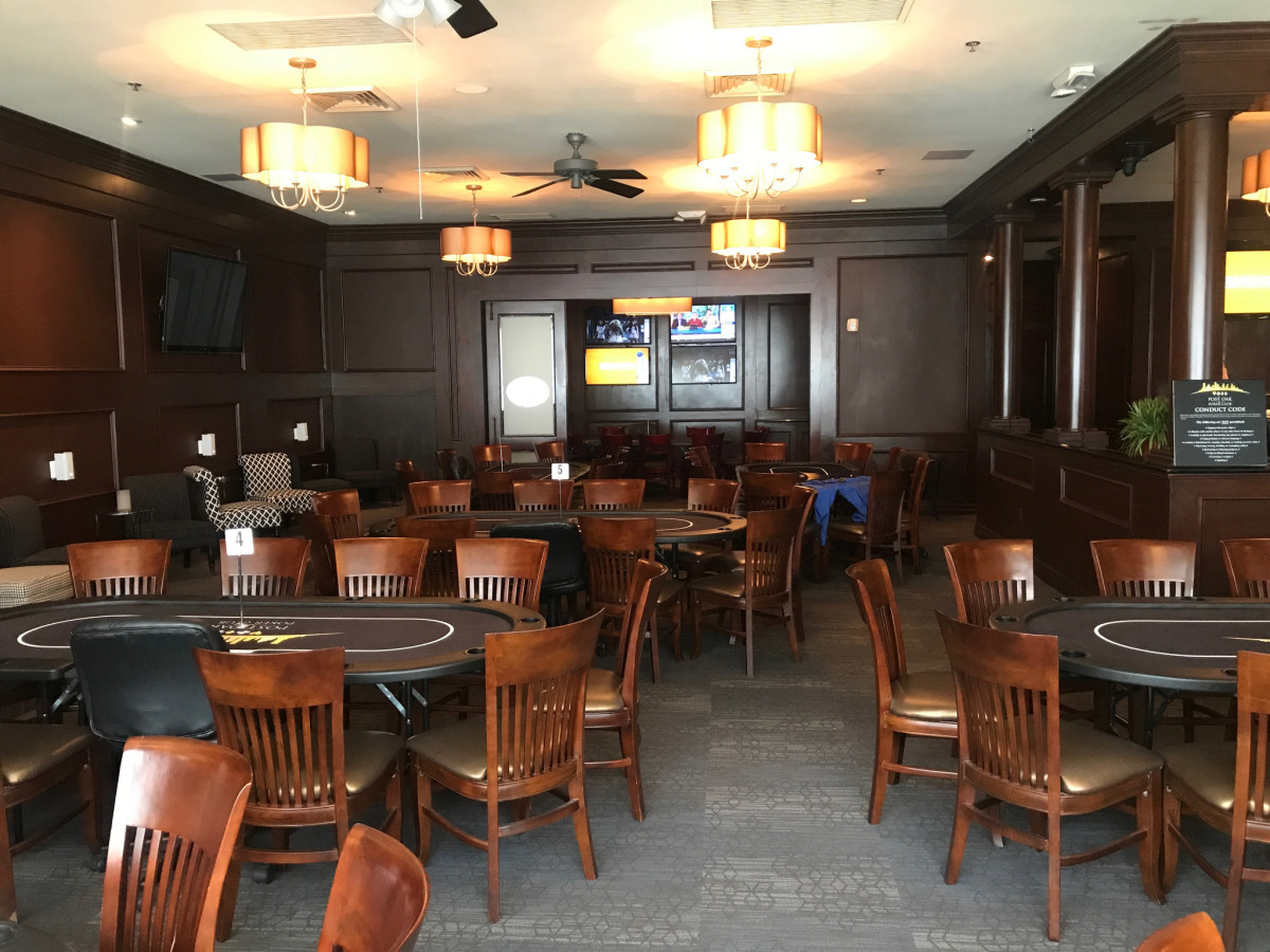 Post Oak Poker Room interior